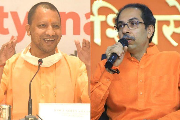 Yogi Adityanath Wants to Hijack Bollywood: Shiv Sena's Strong Opinion on UP CM's Meeting With Film People