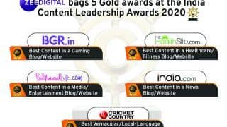 Zee Digital Bags 5 Gold Awards at The India Content Leadership Awards 2020