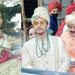Aditya Narayan's Baraat Pics And Videos: Singer Dons White Sherwani, Bride Shweta Agarwal Looks Stunning