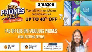 Amazon Fab Phones Fest Date: Amazon पर आ रही फैब फोन्स फेस्ट, स्मार्टफोन्स पर मिलेगा बंपर डिस्काउंट