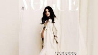 'Capturing For Life'! Mom-To-Be Anushka Sharma Flaunts Her Bare Baby Bump on Magazine's Cover