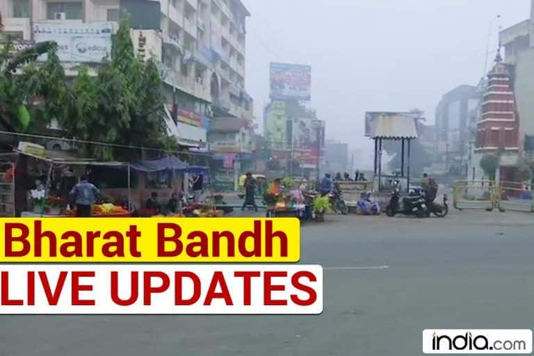 Bharat Bandh Today Highlights:  Over 8 Crore Traders Protest Against E-Way Bill, Petrol, Diesel Price Hike