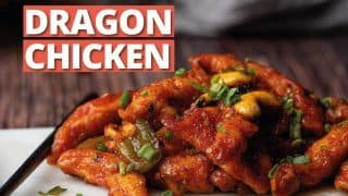 Restaurant Style Dragon Chicken: Learn How To Make Finger Licking Dragon Chicken At Home