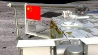 China Becomes 2nd Country to Unfurl Its Flag on Moon, as Chang'e-5 Probe Takes Off For Earth