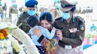 CRPF Dy Commandant Martyred In Sukma Leaves Behind a Toddler And Heartbroken Wife