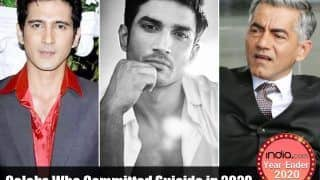 Year-Ender 2020: Bollywood And TV Actors Who Passed Away This Year