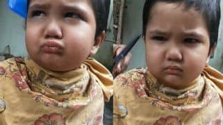 Adorable Kid Who Scolded Barber in Viral Video Becomes Mumbai Police Meme | Watch