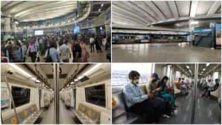 What Does Delhi Metro's 2020 Journey Look Like in 4 Photos? See Viral Post