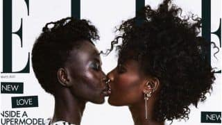 Against Homophobia: Supermodel Aweng Ade-Chuol Kisses Her Wife on Cover of Elle Magazine