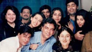 Farah Khan Shares 'Throwback Ka Throwback' Photo of Shah Rukh Khan, Karisma Kapoor, Karan Johar, Kareena Kapoor Khan; Can You Recognize Them?