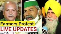 Farmers' Protest LIVE Updates: Talks Between Centre, Peasant Leaders Conclude; Next Meeting on Dec 5