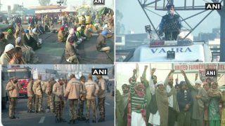 Farmers Protest Enters 30th Day: दिल्ली की सीमाओं पर अड़े किसान, Delhi-UP border पर सुरक्षा बढ़ी
