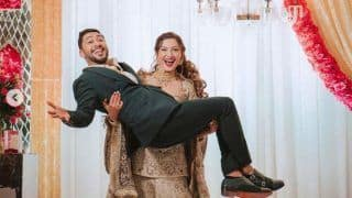 Gauahar Khan Lifts Husband Zaid Darbar in Her Arms During Waleema Ceremony, Shares Pictures
