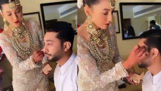 Gauahar Khan Does Zaid Darbar's Makeup Before Nikaah in This Cute Video Going Viral on Instagram