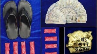 Customs Official Picks up Passenger's Slipper to Help Him, Finds Gold Paste Worth Rs 12 Lakh Hidden Inside | Watch
