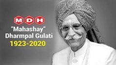 #DharampalGulati: मसालों के किंग को नम आंखों से लोग दे रहे श्रद्धांजलि, बोले- साल 2020 जाते-जाते...