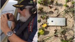 Wow! Man Drops iPhone From Airplane & Surprisingly It Survives The 2,000 Ft Fall; Even Records Video of The Incident!
