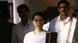 On Jayalalithaa's Death Anniversary, Kangana Ranaut Shares Unseen Stills From Thalaivi