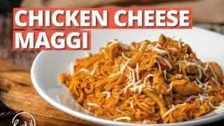 Maggi Lovers,  Learn How To Make Sumptuous Chicken Maggi At Home