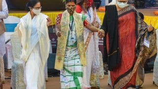 Watch: Bengal CM Mamata Banerjee Shakes a Leg at Opening Ceremony of Bangla Sangeet Mela