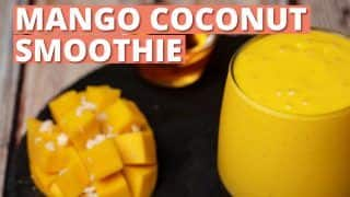 Mango Coconut Smoothie: A Healthy And Tasty Twist To A Smoothie- WATCH Recipe