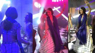 Mouni Roy Dances to Salman Khan's Song at Punit Pathak-Nidhi Moony Singh's Wedding Reception - Watch Viral Video