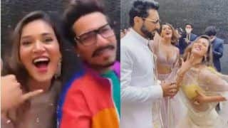 Mukti Mohan-Bharti Singh's Husband Haarsh's Dance at Punit Pathak-Nidhi's Reception Goes Viral