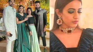Niharika-Chaitanya's Sangeet Pics And Videos: Couple Looks Dreamy, Dances to Varun Dhawan's Song