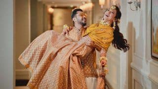 Bride-to-be Gauahar Khan Opts For Approx. Rs 42k Outfit For Her Mehendi Ceremony, Looks Radiant in The Beautiful Outfit
