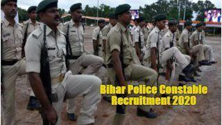 Bihar Police Constable Recruitment 2020: बिहार पुलिस में कांस्टेबल के पदों पर अप्लाई करने के लिए बचे हैं चंद दिन, 12वीं पास कर सकते हैं आवेदन