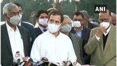 राहुल गांधी ने कृषि कानूनों के खिलाफ 'खेती का खून' नाम की बुकलेट जारी की, कहा- मैं PM Modi और बीजेपी से नहीं डरता