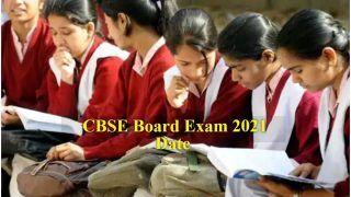 CBSE 10th-12th Board Exam 2021 Date sheet: ऑनलाइन नहीं होगी बोर्ड परीक्षाएं, आज शाम 6 बजे जारी होगी डेटशीट