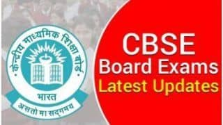 CBSE Board Exams 2021:  Board Seeks Opinion For Class 10 Result Evaluation; Latest Updates Students Should NOT Miss