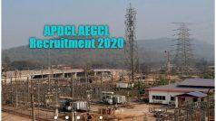 APDCL AEGCL Recruitment 2020: AEGCL में असिस्टेंट, जूनियर मैनेजर को पदों पर निकली बंपर वैकेंसी, इस दिन से करें अप्लाई, 1.12 लाख तक मिलेगी सैलरी