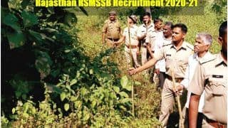 Rajasthan RSMSSB Recruitment 2020-21: राजस्थान कर्मचारी चयन बोर्ड ने फॉरेस्ट गार्ड, फॉरेस्टर के पदों पर निकाली वैकेंसी, इस Direct Link से करें आवेदन