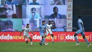 ISL 2020/21: Clinical Mumbai City Beat Odisha FC 2-0 to go Top on Points Table
