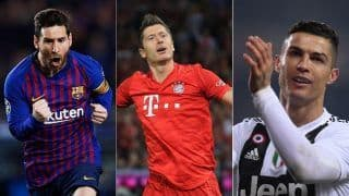 Lionel Messi, Cristiano Ronaldo and Robert Lewandowski Shortlisted as Finalists For The Best FIFA Men's Player 2020