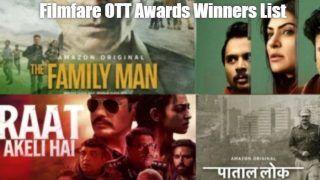 Filmfare OTT Awards: 'पाताल लोक' को मिला बेस्ट वेब सीरीजका अवार्ड, ये एक्टरबना 'डिजिटल किंग'- See Full List