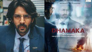 Kartik Aaryan's First Look From Dhamaka: मिलिएपत्रकारअर्जुन पाठक से, ज़बरदस्त हैकार्तिक आर्यन का 'धमाका'