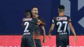 ISL 2020/21: Igor Angulo's Late Strike Powers FC Goa to 2-1 Win Over Hyderabad