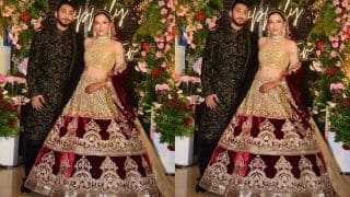 Gauahar Khan-Zaid Darbar Wedding Reception Pictures Out: Newly-Wed Looks Mesmerising in Stunning Outfits