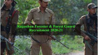 Rajasthan Forester & Forest Guard Recruitment 2020-21: 10वीं, 12वीं पास के लिए राजस्थान में 1041 फॉरेस्टर, फॉरेस्ट गार्ड के पदों पर निकली वैकेंसी, जल्द करें आवेदन