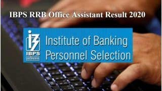 IBPS RRB Office Assistant Result 2020 Declared: IBPS ने जारी किया Office Assistant 2020 का रिजल्ट, ये है चेक करने का Direct Link