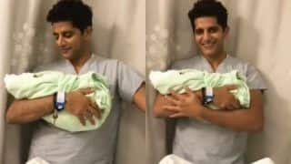 'Tum Hi Ho Pehle, Tum Hi Ho Akhir'! Karanvir Bohra Shares Adorable Video Holding His Newborn Daughter