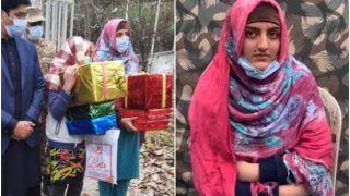 VIDEO: एलओसी पार कर भारत आईं दो पाकिस्तानी लड़कियां, सेना ने गिफ्ट के साथ वापस भेजा, बोलीं- हमने तो सोचा था...