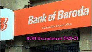BOB Recruitment 2020-21: बैंक ऑफ बड़ौदा में स्पेशलिस्ट ऑफिसर्स के पदों पर निकली वैकेंसी, जल्द करें अप्लाई, बस होनी चाहिए ये योग्यता