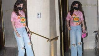 Khushi Kapoor in Approx Rs 60k T-Shirt Looks Her Best Casual Self, See PICS