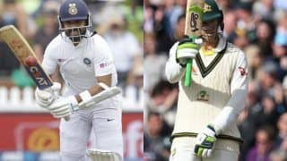 Match Highlights Australia vs India 2nd Test, Day 1: Shubman Gill, Cheteshwar Pujara Steady IND After Early Jolt