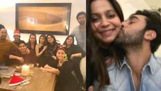 Ranbir Kapoor Kisses Alia Bhatt's Sister Shaheen Bhatt at The Family Christmas Party - See Pics