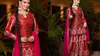 Urvashi Rautela's Sharara Costs Over Rs 2 Lakh, She Looks Like a Patakha Wearing a Punjabi Paranda - See Pics